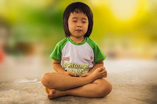 Mindful child