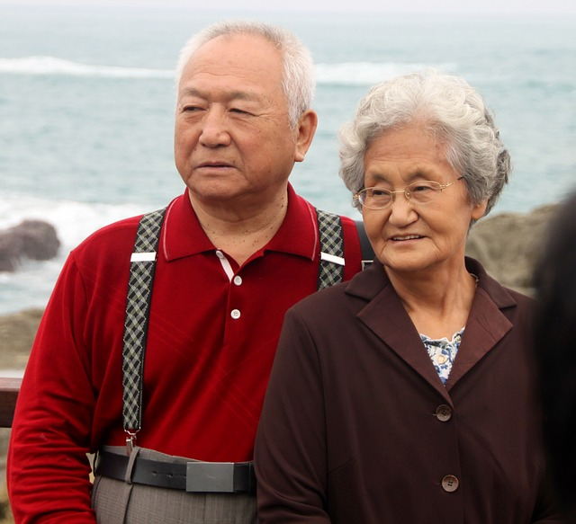 Mindful Older Couple